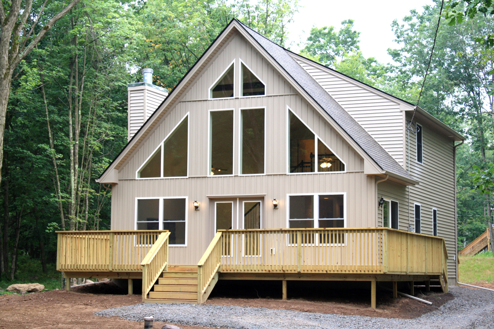 Modular home chalet modular homes nh for Chalet homes
